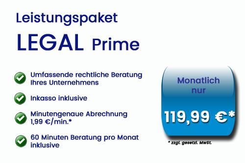 Advodax Rechtsdienstleister legal prime